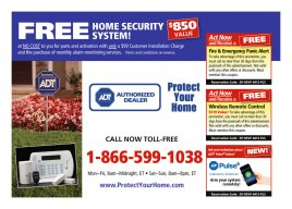 Free Home Security System ($850 Value)