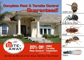 Complete Pest & Termite Control, Guaranteed!